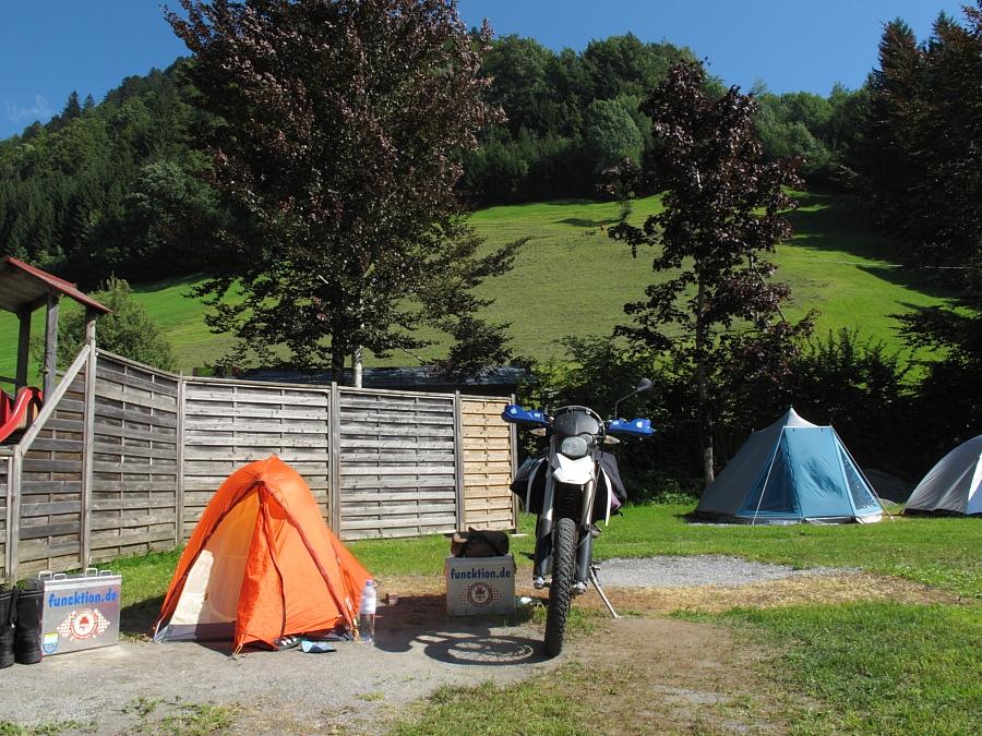 Motorradtour In Den Alpen Auf Bmw G 650 Xchallenge