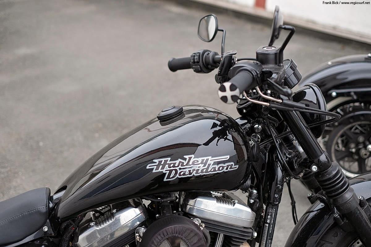 Harley Davidson Forty Eight Luftfilter
