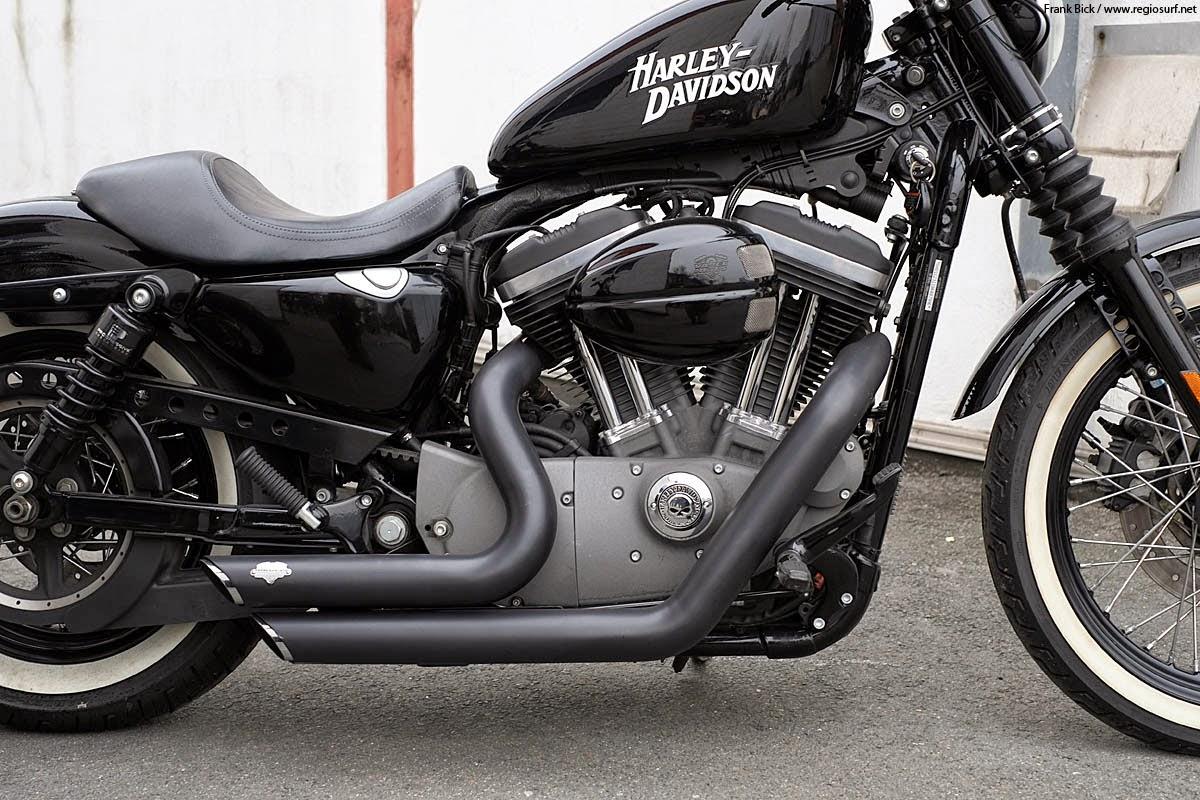 Harley Davidson  Iron  Sound